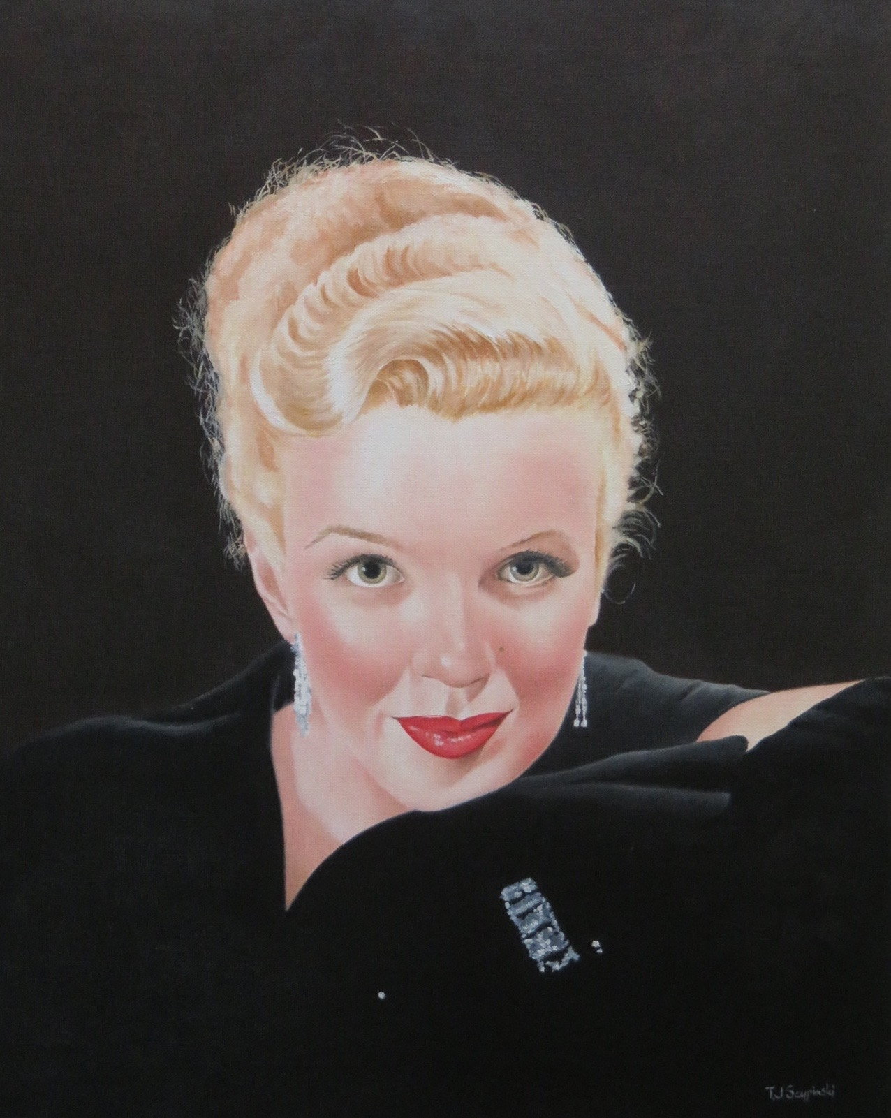 Marilyn in Diamonds