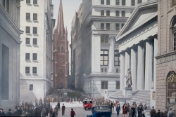 Wall Street 1929 New York City