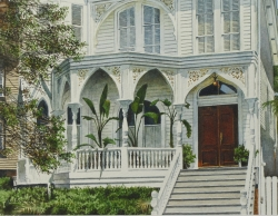 House on Gaston Street, Savannah Georgia