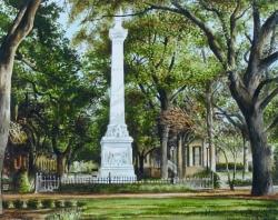 Monterey Square Savannah GA